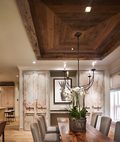 Timber Ceiling Tray