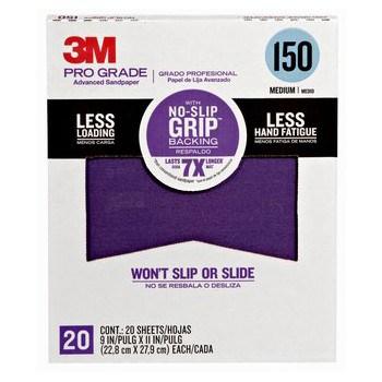 3M 150 Grit Sandpaper   HardwareWorld