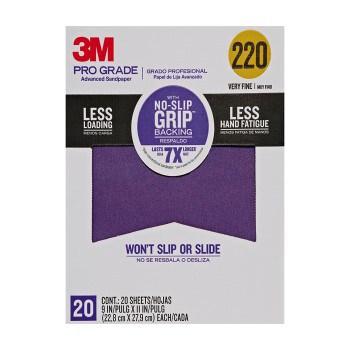 3M 220 Grit Sandpaper   HardwareWorld