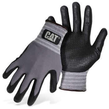 Caterpillar Nitrile Coated Palm Gloves | HardwareWorld