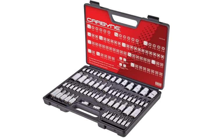 Carbyne Master Torx Bit Socket Set