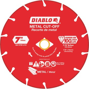 DIABLO 7in Cut Disc | HardwareWorld
