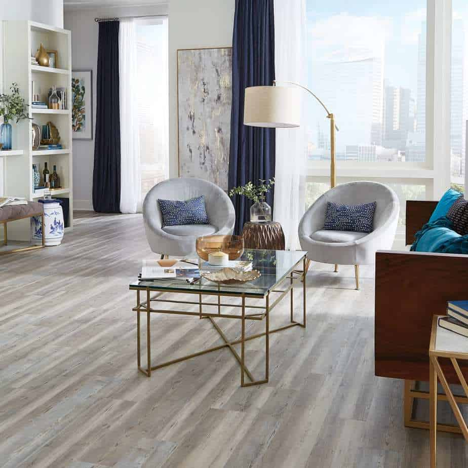 Edgewater Oak Click Luxury Vinyl Plank Flooring | LL Flooring