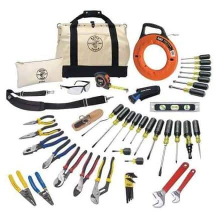 Klein Tools General Hand Tool Kit - 41Pcs | Zoro.com
