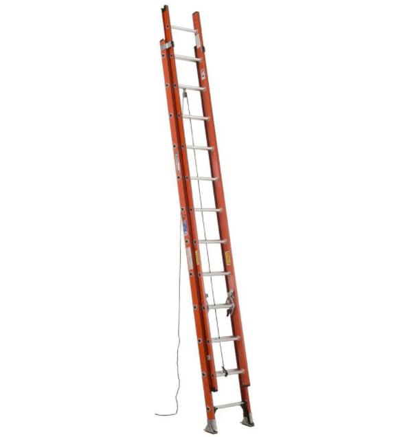 Werner Type 1A Fiberglass Extension Ladder