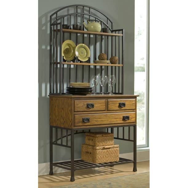 Home Styles' Baker's Rack With Hutch